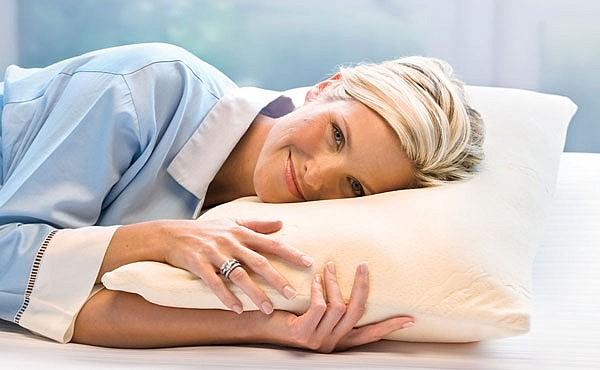 Комфортная подушка из натурального латекса